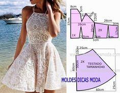 Pattern Summer Dress / Simple patterns / SECOND STREET