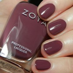Zoya Naturel Deux Collection Swatches & Review | Let them have Polish!  aubrey