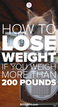 Losing weight can be hard for anyone but especially if you weigh more than 200lbs. Here is a 7-step plan to help you lose weight if you weigh 200lbs or more and keep the weight off.
