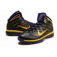 premium selection 66c3b 2ed3c Nike Hyperize Kobe Bryant Olympic 2 Shoes Black Yellow Purple