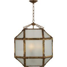 Morris Hanging Lantern by Suzanne Kasler, via Circa Lighting