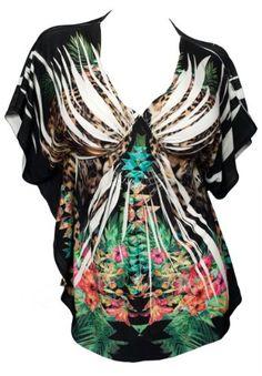 size fashionista, size cloth, plus size, print top, floral sublim, size top, size low, prints, black