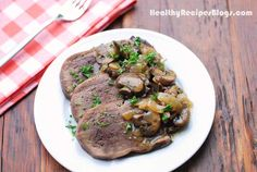 Beef tongue is gently simmered in water with aromatics, then served with a rich onion-mushroom sauce. So tender and flavorful! Ox Tongue Recipe, Beef Tongue, Best Beef Recipes, Crockpot Recipes, Healthy Food Blogs, Healthy Recipes, Stuffed Mushrooms, Stuffed Peppers, Mushroom Sauce