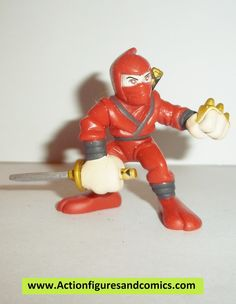 Hasbro MARVEL SUPER HERO SQUAD pvc action figures HAND NINJA (red version) condition: excellent - displayed only/collectable condition figure size: 2 inch ---------------------------------------------