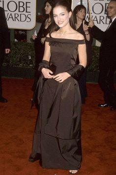 Natalie Portman Golden Globes, Natalie Portman Style, Vintage Dresses, Nice Dresses, Elegant Dresses, Topshop Maternity, Costume Institute, Red Carpet Looks, Satin Dresses