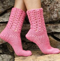 Beautiful+ideas+crochet | Stylish Easy Crochet: Warm Socks - Crochet Socks For Both Women And ...