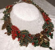 Bead Jewelry Necklace Iolani Princeville by NewWorldElegance, $270.00