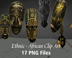 Ethnic/African Printable/Digital Mask Clip Art Printable Art, Printables, Minnie Mouse Pink, Making Shirts, African Masks, Alphabet And Numbers, Ethnic, Clip Art, Digital