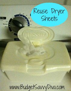 Reuse Dryer Sheets – Multiple Uses in Dryer