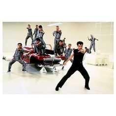 30 years of 'Grease' ❤ liked on Polyvore featuring grease and backgrounds