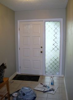 DIY: Contact Paper Window Treatment