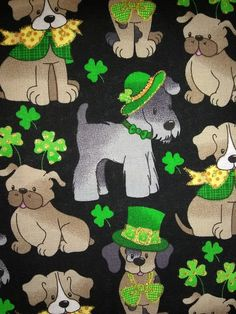 Custom medical scrub for St. Patricks Day!!  More details at www.etsy.com/shop/JudisScrubs Custom Scrubs, Medical Scrubs, Puppies, Shop, Etsy, Fictional Characters, Art, Art Background, Cubs