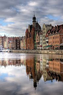Gdansk, Poland.I sailed to Am e rica from this beauti ful city.