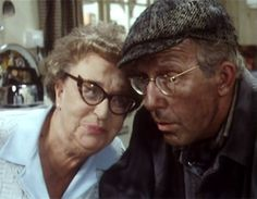 Edie and Wesley British Tv Comedies, Classic Comedies, British Comedy, British Actors, Classic Movies, Last Of Summer Wine, English Comedy, British Humor, Bbc Tv