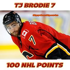 T.J. Brodie Reaches 100 NHL Points | Spyder Sports Lounge