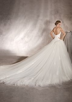 44fc365c38f13 51 Best Pronovias 2017 Bridal Collection images | Alon livne wedding ...