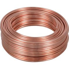 Enjoy the OOK 25 ft. Copper Hobby Wire metal wire is crafted with copper for strength and can hold up to 35 lb. well from The Home Depot Copper Wire Crafts, Copper Wire Art, Wire Wrapped Jewelry, Metal Jewelry, Jewelry Tools, Jewelry Crafts, Jewelry Ideas, Diy Clothes Life Hacks, Diy Crafts How To Make