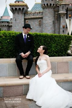 In Park Photoshoot. Must have been so awesome to have a private shoot inside Disneyland!