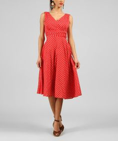 Don a fabulous look with this ultra-feminine dress. Featuring lightweight and breathable cotton, a vintage-inspired design and flattering silhouette, this lovely find will soon become a favorite staple.