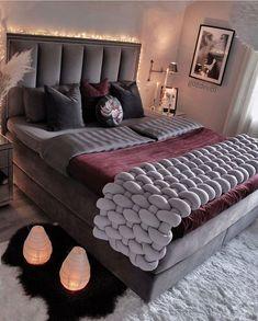 Room Ideas Bedroom, Bedroom Sets, Home Bedroom, Bedroom Decor, Master Bedroom Makeover, Cute Room Decor, Cozy Room, Guest Bedrooms, Home Decor Furniture