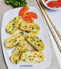 Resep olahan telur sederhana Instagram Easy Sauce Recipe, Sauce Recipes, Egg Recipes, Dessert Recipes, Cooking Recipes, Recipies, Desserts, Malay Food, Workout Meal Plan