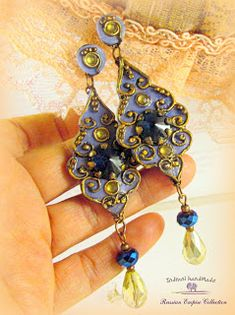 Indrani Handmade Polymer Clay Jewelry, Bracelets, Drop Earrings, Handmade, Vintage, Fimo, Hand Made, Drop Earring, Vintage Comics