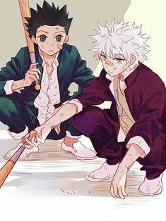 Gon Freecs and Killua Zoldyck Hunter x Hunter Favorite Character, Hunter, Killua, Hunter Anime, Hunter X Hunter, Anime, Anime Characters, Fan Art, Manga