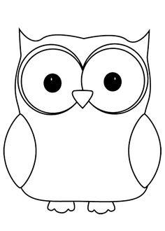 Baykuş boyama sayfası, Owl coloring pages, Página para colorear de búho, Картина сова.