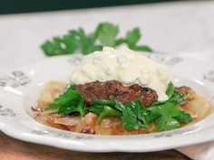 Mashed Potatoes, Beef, Dinner, Breakfast, Ethnic Recipes, Food, Whipped Potatoes, Meat, Dining