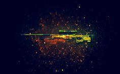 Download AWP Dragon Lore Sniper Rifle CSGO Skin 1920x1200