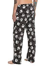 HOTTOPIC.COM - The Nightmare Before Christmas Jack Heads Bats Guys Pajama Pants. need them for ME