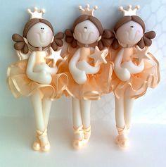 3 móbiles Princesa fada =)