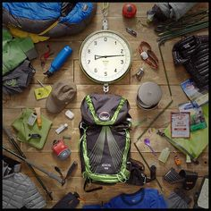 The Osprey Exos 58 weighs a little but carries a lot. What luxuries will you pack?