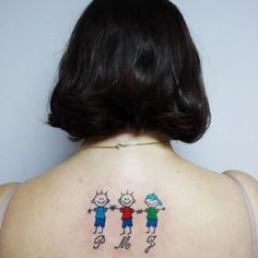 Family tattoos that represent the union of loved ones Mommy Tattoos, Mama Tattoo, Mother Tattoos, Baby Tattoos, Friend Tattoos, Love Tattoos, I Tattoo, Group Tattoos, Family Tattoos
