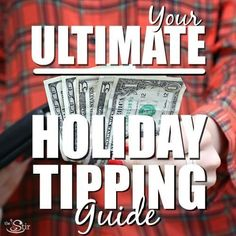 This holiday tipping guide is a lifesaver!