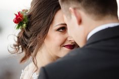 Emotional bride and groom portrait. Wedding hair and makeup. Wedding Hair And Makeup, Hair Makeup, Timeless Wedding, Baltic Sea, Wedding Photoshoot, Wedding Images, We The People, Beautiful Landscapes, Wedding Hairstyles