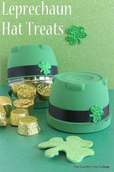Leprechaun Hat Treats for St. Patrick's Day