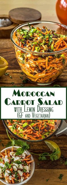 Lower Excess Fat Rooster Recipes That Basically Prime A Fresh And Crunchy Salad Of Matchstick Carrots, Toasted Almonds, And Sweet Currants Tossed With A Sweettart Lemon And Olive Oil Based Dressing. Moroccan Flavors Sing In My Moroccan Carrot Salad With Carrot Recipes, Healthy Salad Recipes, Veggie Recipes, Whole Food Recipes, Vegetarian Recipes, Cooking Recipes, Cooking Games, Mexican Recipes, Feta Cheese Recipes