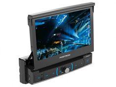 """DVD Automotivo Pósitron SP6320 Retrátil Tela 7"""" - Touch Screen Entradas USB Aux e p/ Câmera de Ré com as melhores condições você encontra no Magazine Bemmaispratico. Confira!"""