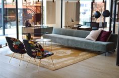 Gam Fratesi's Beetle Lounge Chair Gubi, 3 Days of Design Copenhagen | Yellowtrace