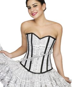 a4a74980d4b 100% Authentic Spiral Steel Boned Corsets   Organic Products Store