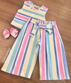 Baby Girl Dress Patterns, Baby Clothes Patterns, Kids Dress Wear, Dresses Kids Girl, Little Girl Fashion, Kids Fashion, Toddler Outfits, Kids Outfits, Baby Clothes Sizes