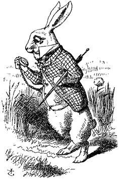 ¿Vas tarde como el conejo de Alicia en el País de las Maravillas? ¿A qué cita importante estás faltando? http://sinmiedoasaltar.com/el-segundo-mejor-momento-es-ahora/