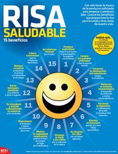 15 beneficios de la risa