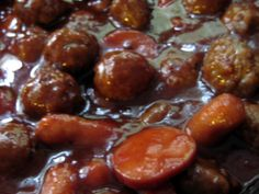 Sweet and Sour Meatballs | Made in Melissa's Kitchen