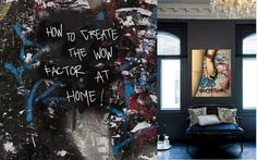 how to create the wow factor at home -Abigail Ahern