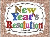 New Year's Resolution Graphic Organizer