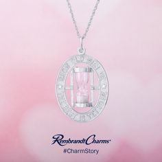 Rembrandt Charms Sterling Silver Wine Bottle Charm on a 16 18 or 20 inch Rope Box or Curb Chain Necklace