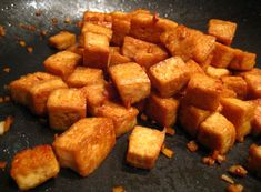Perfect Basic Pan-Fried #Vegan Tofu
