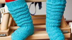 Knitting For Kids, Knitting Socks, Baby Knitting, Crochet Baby, Knit Crochet, Baby Clothes Blanket, Boot Cuffs, Leg Warmers, Sewing